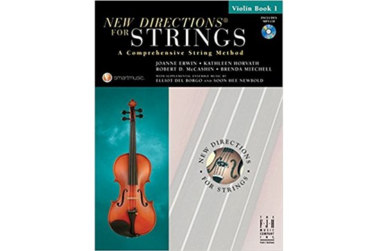New Directions for Strings - Violin Book 1