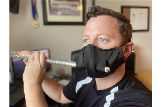 Marchmaster Performance Flute Mask - Black