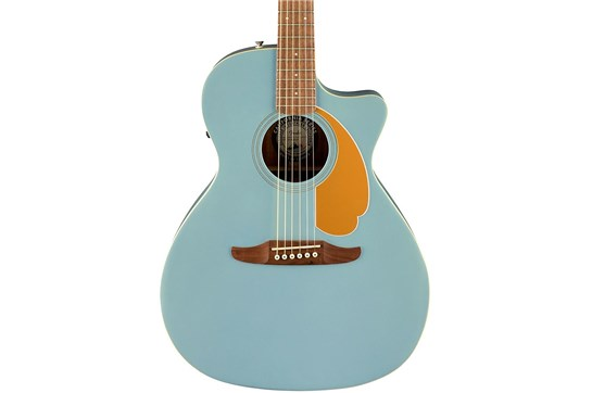 Fender Newporter Player Acoustic-Electric - Ice Blue Satin