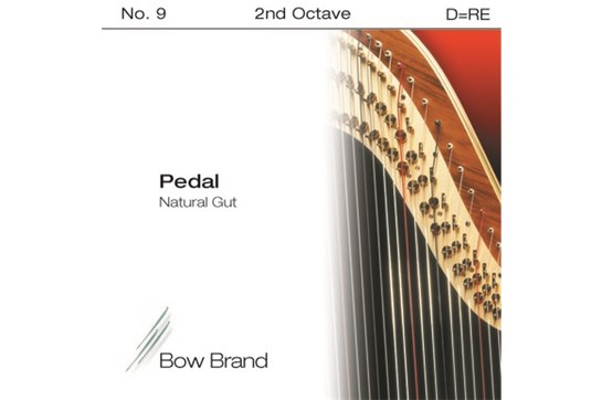 Bow 2nd Octave D Harp String