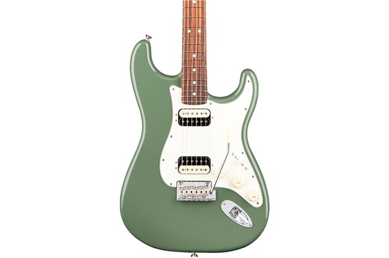 Fender Am Pro Strat HH Shawbucker Electric Guitar (Antique Olive)