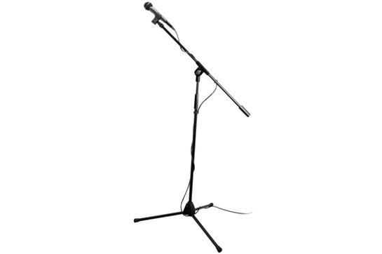 Mic Stand Pack, On Stage, MS7500 with Mic, Stand, Cable, and Clip