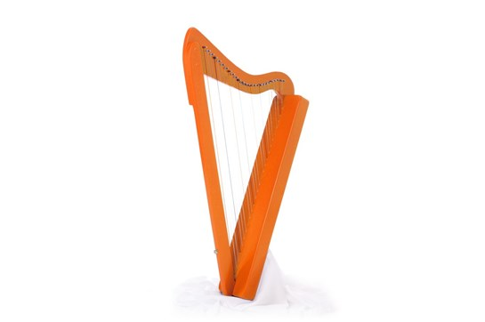 Used Orange Harpsicle Harp - Travel Harp by Rees Harps