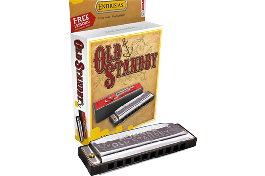 Hohner Harmonica Old Standby 34B-BX (Key of D)