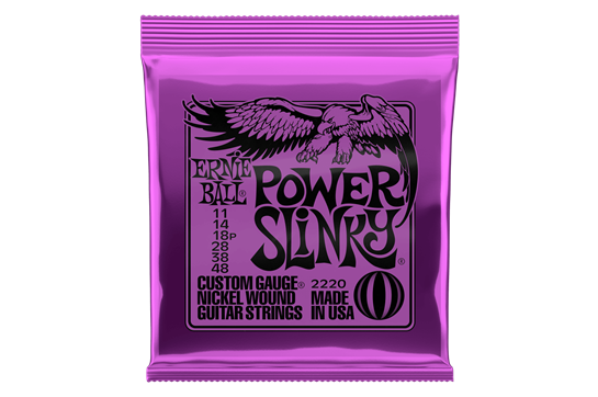 Ernie Ball 2220 Power Slinky Electric Strings .011-.048