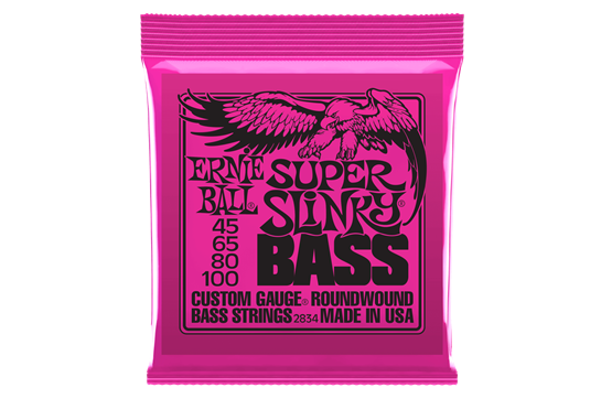 Ernie Ball 2834 Super Slinky Nickel Wound Electric Bass Strings