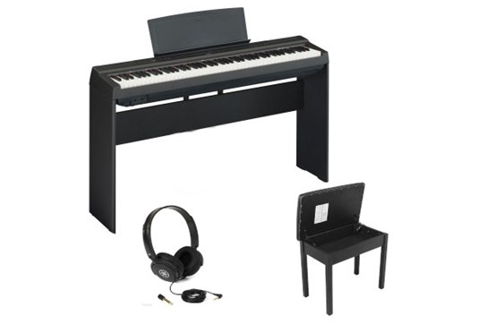Yamaha P125 Heid at Home Bundle