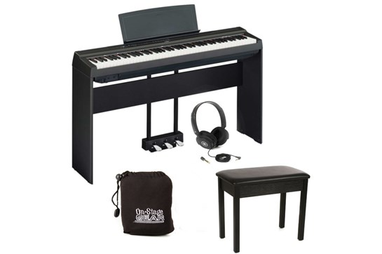 Yamaha P125 Heid at Home Plus Bundle