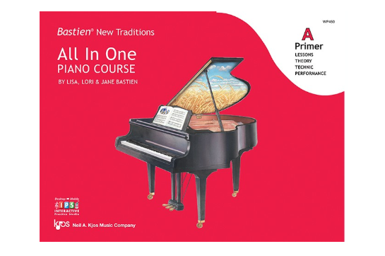 Bastien New Traditions: All In One Piano Course, Primer Level A