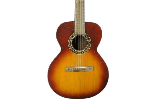 1960s Kay Classical Folk Acoustic Guitar Sunburst