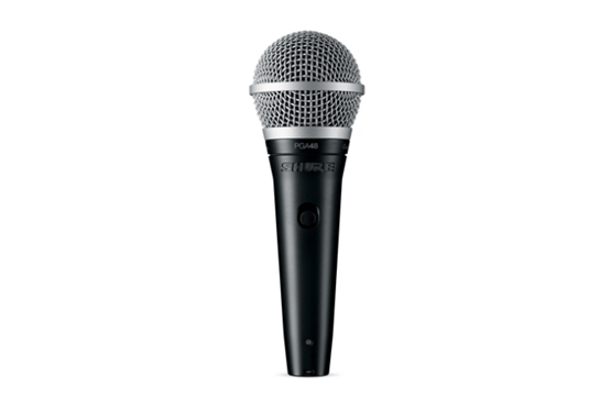 Shure PGA48 Vocal Microphone w/XLR 1/4