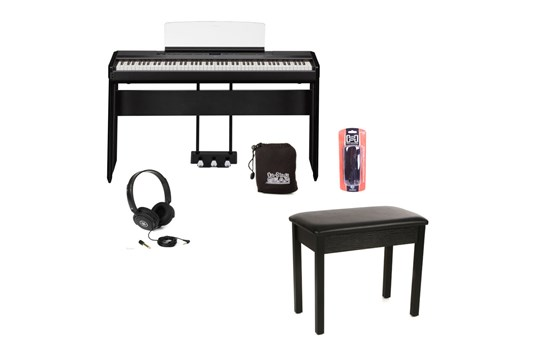 Yamaha P515 Heid at Home Digital Keyboard Bundle