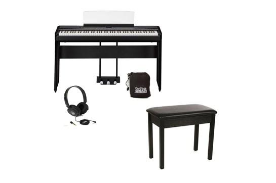 Yamaha P515 Heid at Home Digital Keyboard Bundle