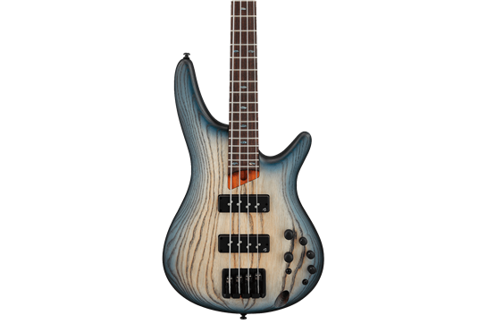 Ibanez SR600E Bass - Cosmic Blue Starburst Flat