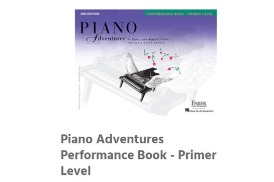 Piano Beginner Starter Set - Ages 7-9