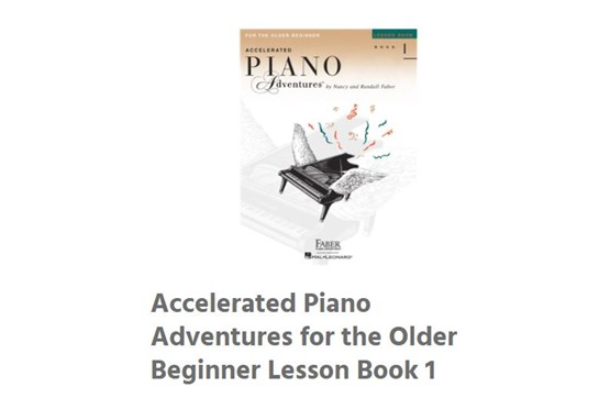Piano Beginner Starter Set - Ages 10-13