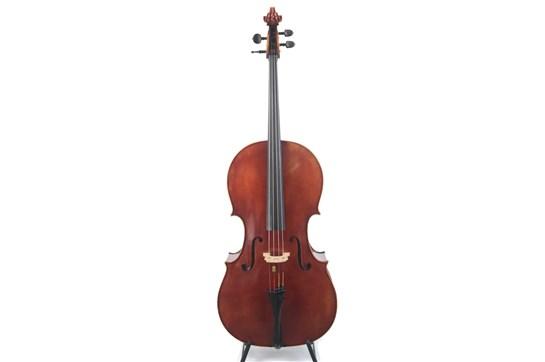 Cello, 1950 Labeled, Roderich Paesold, Meisterwerkstatt in Baiersdorf, PA605 Davidov 4/4 K12 1950