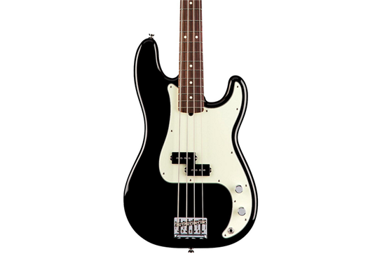 Fender American Professional Precision Bass with Rosewood Fingerboard  (Black)