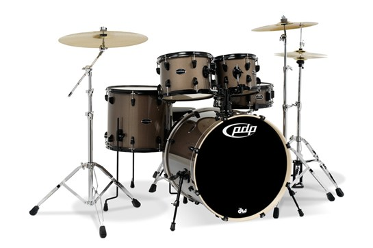 PDP Mainstage 5-Piece Drum Set w/ Cymbals (Bronze Metallic)