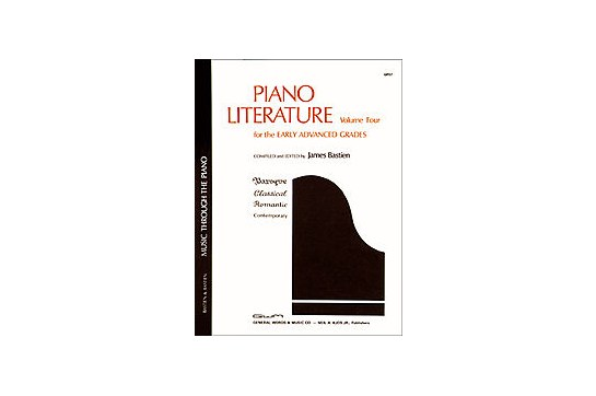 Piano Literature, Volume 4
