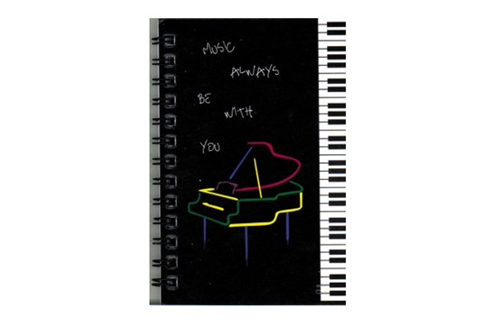 Music Treasures Piano Memo Pad