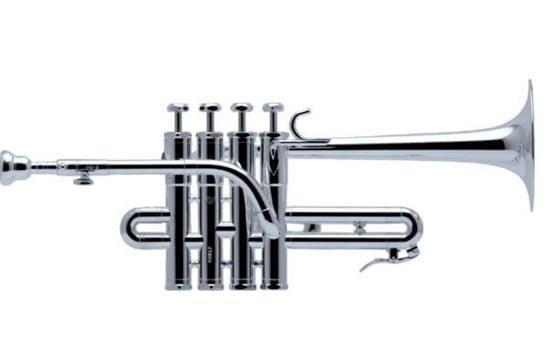 Schilke P5-4 Piccolo Trumpet - Silver-Plated w/Beryllium Bell