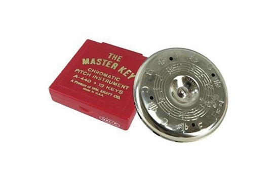 MK1 Master Key Chromatic F-F Chromatic Pitch Pipe