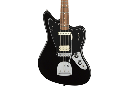 Fender Player Jaguar PF Electric Guitar (Black)