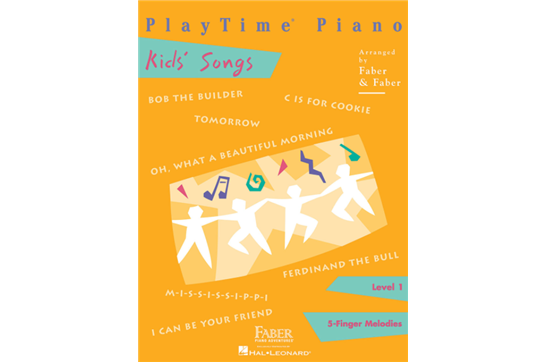 Faber PlayTime Kids Songs (Level 1)
