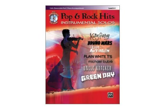 Pop & Rock Hits Instrumental Solos for Strings (Cello)