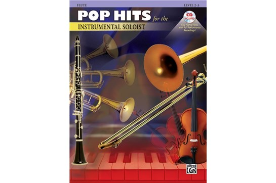 Pop Hits for the Instrumental Soloist - Flute