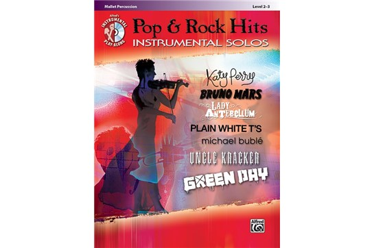 Pop & Rock Hits Instrumental Solos for Mallet Percussion