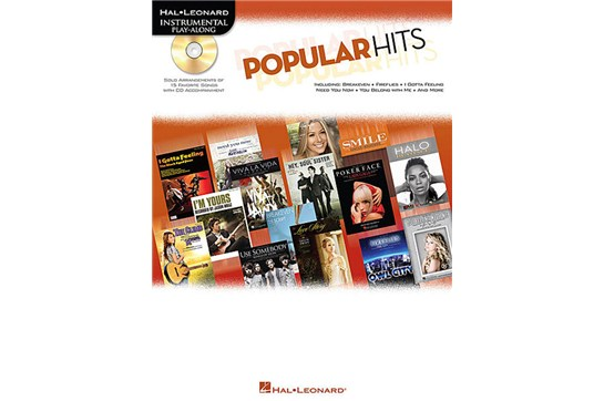 Popular Hits Instrumental Play-Along