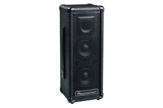 Powerwerks 50W Powered Speaker w/Mixer