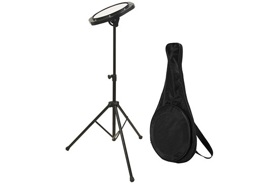 On-Stage DFP5500 Practice Pad w/stand & bag