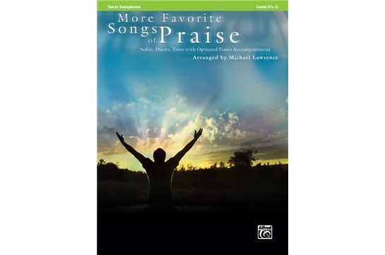 More Favorite Songs of Praise - Tenor Saxophone
