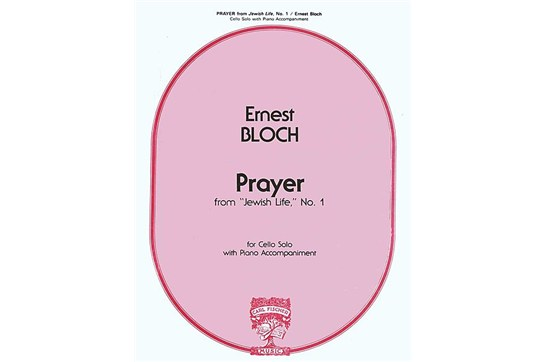 Prayer from 'Jewish Life', No. 1