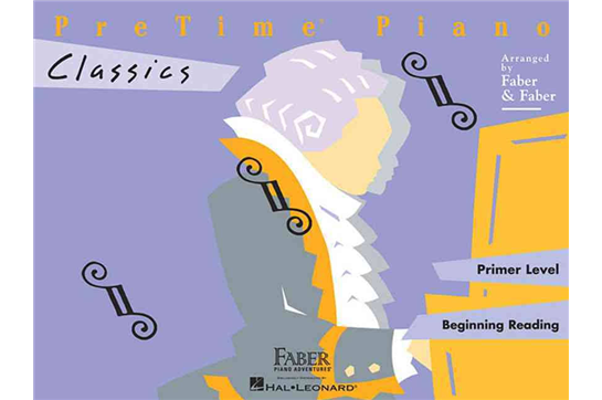 PreTime Piano Classics (Primer Level)