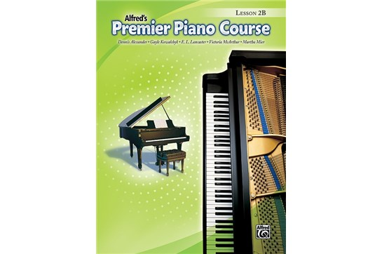 Premier Piano Course, Lesson 2B without CD