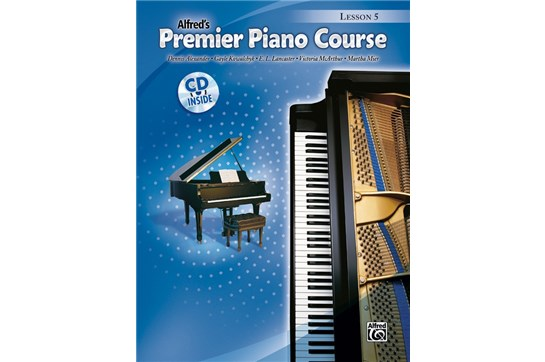 Premier Piano Course, Lesson 5 with CD