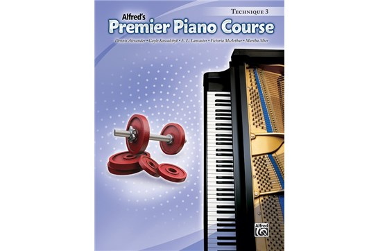 Premier Piano Course, Technique 3