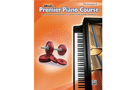 Premier Piano Course, Technique 4