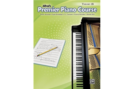Premier Piano Course, Theory 2B