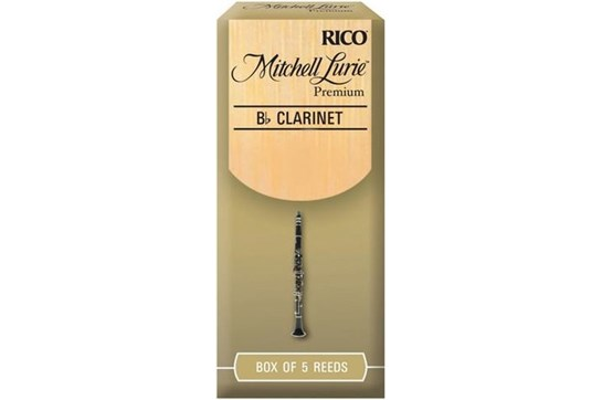 Mitchell Lurie Premium Clarinet Reeds Strength 2.5 (Box of 5)