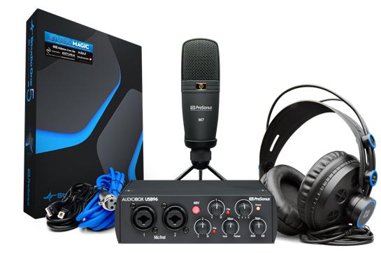 PreSonus AudioBox® 96 Studio Bundle - 25th Anniversary Edition