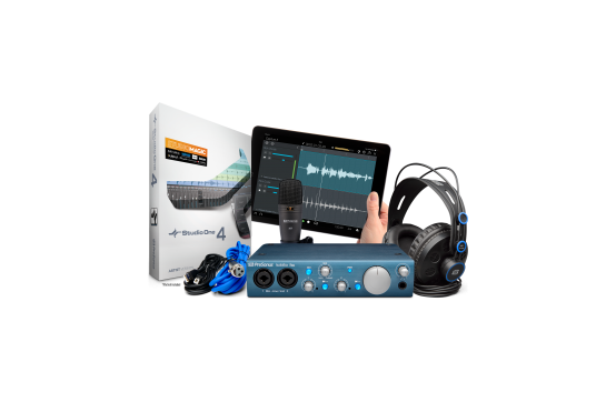 PreSonus Audiobox iTwo Studio Recording Bundle