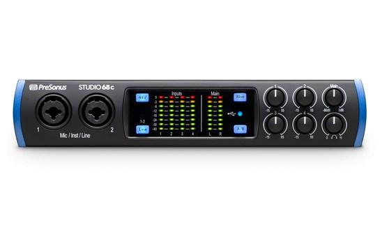 PreSonus Studio 68c USB 6x6 Recording Interface