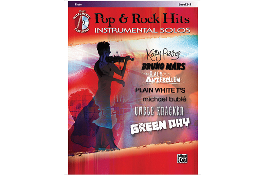 Pop & Rock Hits Instrumental Solos (Flute)