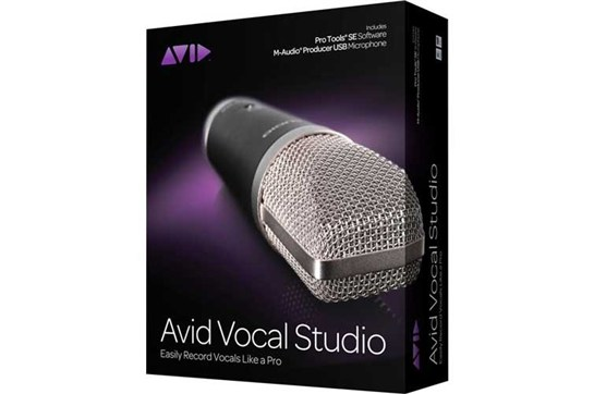 Avid Vocal Studio Pack