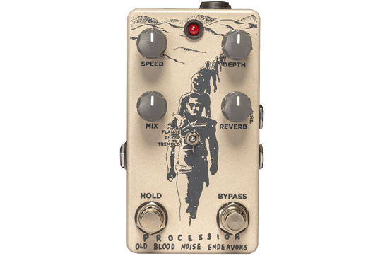 Old Blood Noise Endeavors Processional SciFi Reverb Pedal